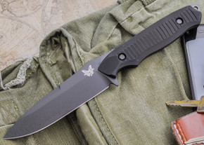Benchmade Knives: 140BK Nimravus - Fixed Blade - Black Finish