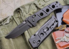 Benchmade Knives: 275BK Adamas - Black Blade