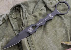 Benchmade Knives: 178SBKSN SOCP - Serrated Drop Point - Sand Sheath