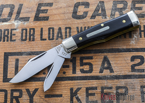 Great Eastern Cutlery: #22 - Tidoute - Magnum - Black Buffalo Horn