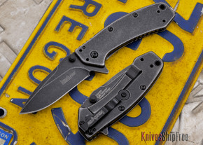 Kershaw Knives: Cryo - Blackwash Finish - 1555BW