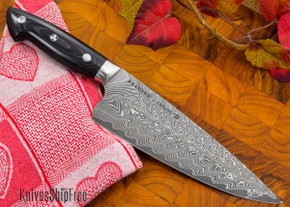 "Kramer by Zwilling: Euroline - 8"" Chef's Knife - Stainless Damascus Collection"
