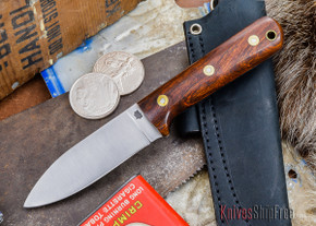 L.T. Wright Knives: Genesis - Desert Ironwood - Flat Ground - A2 Steel - #28