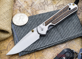 Chris Reeve Knives: Large Sebenza 21 - Bocote Inlay - S