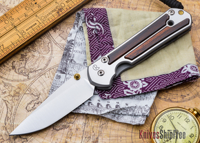 Chris Reeve Knives: Large Sebenza 21 - Cocobolo - D