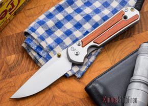 Chris Reeve Knives: Large Sebenza 21 - Cocobolo - M