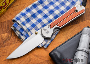 Chris Reeve Knives: Large Sebenza 21 - Cocobolo - N