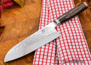 """Shun Knives: Premier Sumo Santoku 7"""" - TDM0743"""