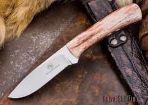 Arno Bernard Knives: Grazer Series - Kudu - Giraffe Bone Handle