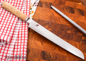 "MIYABI: Birchwood Edition - 9"" Bread Knife"