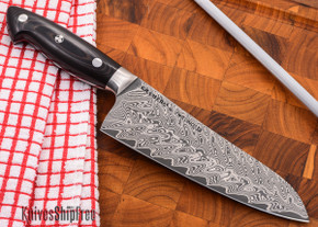 "Kramer by Zwilling: Euroline - 5"" Utility Knife - Stainless Damascus Collection"