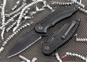 Brous Blades: Bionic 2.0 - Black Aluminum Handles - Blackout