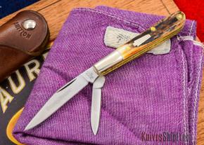 Schatt & Morgan: Keystone Series #67 - Gentlemen's Mini Barlow - Two-Blade - Stag - 010907