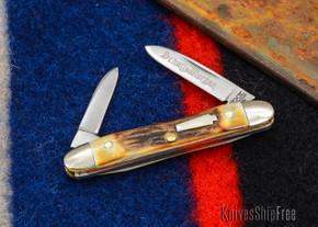Schatt & Morgan: Keystone Series #06 - Senator - Two-Blade - Stag - #2