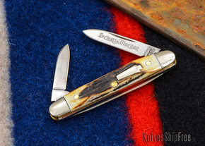 Schatt & Morgan: Keystone Series #06 - Senator - Two-Blade - Stag - #7