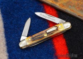 Schatt & Morgan: Keystone Series #06 - Senator - Two-Blade - Stag - #21