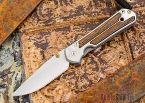 Chris Reeve Knives: Large Sebenza 21 - Bocote Inlay - 012101