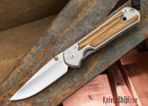 Chris Reeve Knives: Small Sebenza 21 - Bocote - 032501