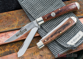 Bark River Knives: Gameskeeper - Desert Ironwood - 1