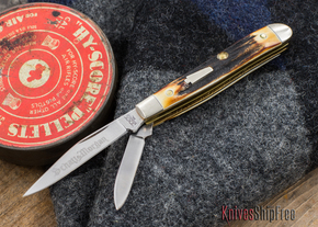 Schatt & Morgan Keystone: #14 - Gentlemen's Peanut - Genuine Stag - 040701