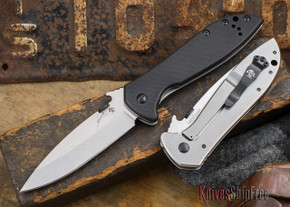 Kershaw Knives: Emerson CQC-4KXL - Stonewash Finish - 6055