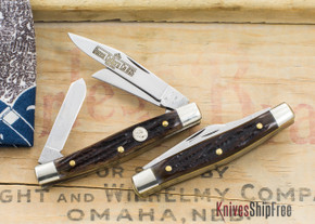 Northwoods Knives: Madison Barlow - Clip Point -  Mammoth Ivory - 21