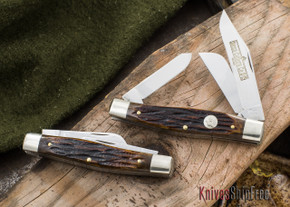 Northwoods Knives: Madison Barlow - Clip Point -  Mammoth Ivory - 43