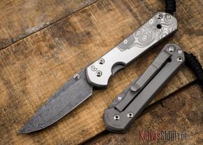 Chris Reeve Knives: Small Sebenza 21 - CGG Raindrop Damascus