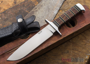 Alan Warren Knives: Outdoor Hunter - Arizona Desert Ironwood - African Blackwood