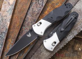 Benchmade Knives: 581BK Barrage - Aluminum & G10 - Black Blade