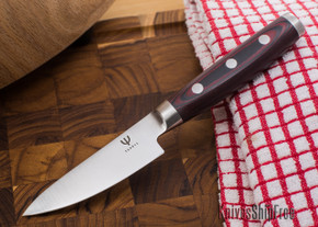 "Yaxell: Red Dragon - 3.5"" Paring Knife"