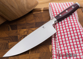 "Stratus Culinary: Red Dragon - 8"" Chef's Knife"