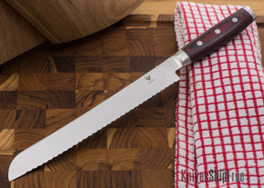 "Yaxell: Red Dragon - 9"" Bread Knife"