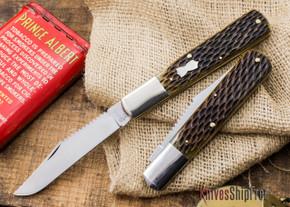 Queen Cutlery: Queen City - Fisherman's Barlow - Jigged Bone