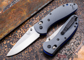 Benchmade Knives: 551-1 Griptilian - Gray G-10 - CPM 20CV