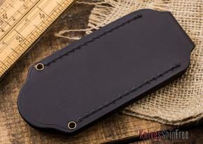 KnivesShipFree Leather: Deluxe Pocketslip - Dark Brown