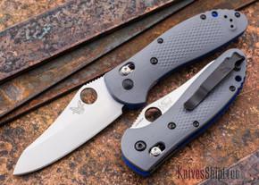 Benchmade Knives: 550-1 Griptilian - Gray G-10 - CPM 20CV