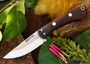 Northwoods Knives: Iron River - Bastone Walnut Burl