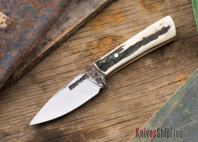 Lon Humphrey: Custom Whitetail Knife - Stag - 021107
