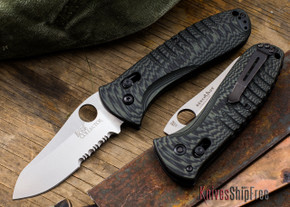 Benchmade Knives: Bone Collector - 15020S-1 - D2 Tool Steel - Black & Green G-10