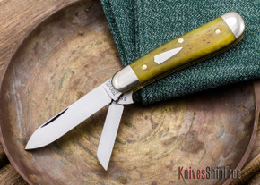 Great Eastern Cutlery: #18 - Tidioute - Beagle - Camel Bone - 050912
