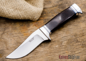 Alan Warren Knives: Trailing Point Hunter - African Blackwood - #2022