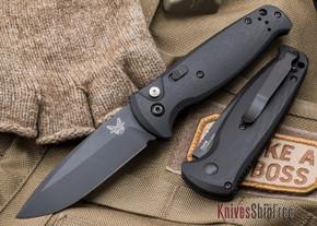 Benchmade Knives: 4300BK CLA - Auto - Black G-10 - Black Blade
