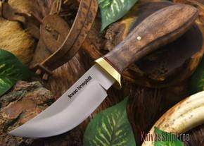 Jesse Hemphill Knives: DeKalb Series - High Falls - Curly Koa Burl - #2