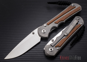 Chris Reeve Knives: Large Inkosi - Natural Canvas Micarta Inlay