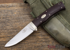 Fallkniven: HK9 - Maroon Micarta - 3G Steel - Leather Sheath