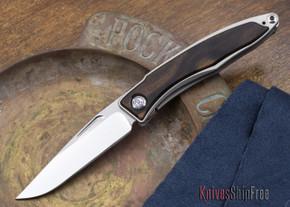 Chris Reeve Knives: Mnandi - Macasser Ebony Inlay - 110709