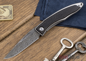 Chris Reeve Knives: Mnandi - Bog Oak - Raindrop Damascus - 111803