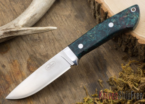 Fallkniven: Custom F1 - Deep Blue Maple Burl