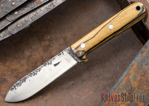 Lon Humphrey Knives: Kephart 3V - Black & White Ebony - 121203